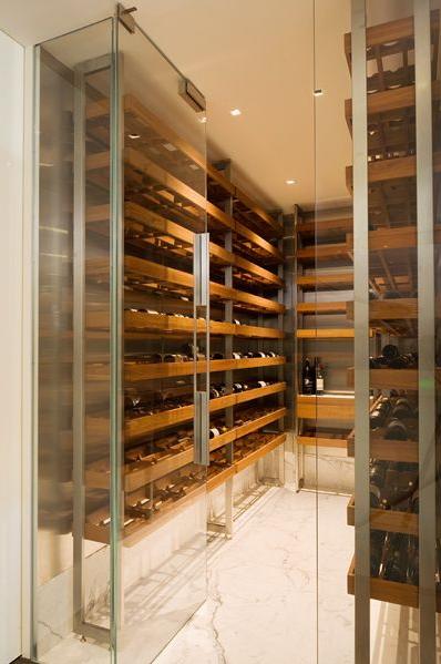 Wine cellars jarred cinman for Walk in wine cellars
