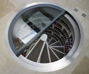 underground_wine cellar modern